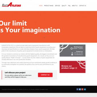 Korporatyvinė svetainė. http://atletas.etakomunikacija.lt/
