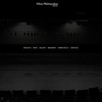 Asmeninė svetainė. http://viliusmalinauskas.com/