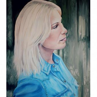 Portretų piešimas, paveikslų tapyba. / Sandra Stalmokaitė / Darbų pavyzdys ID 93316