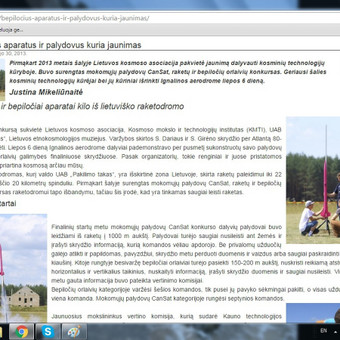 Laisvai samdoma žurnalistė Bulgarijoje / Justina Mikeliūnaitė / Darbų pavyzdys ID 96074