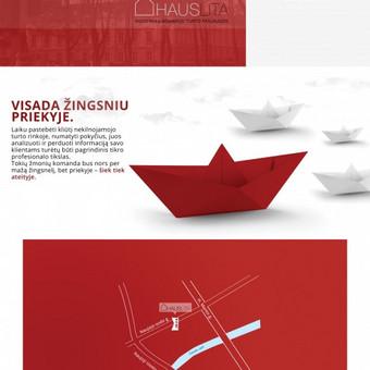 """Reprezentacinė brošiūra įmonei. UAB """"Hauslita"""""""