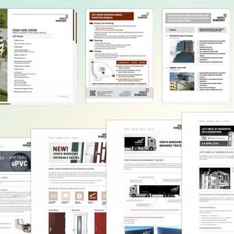 www.ventawindows.com   Klientas aptarnaujamas įvairiose dizaino srityse. Kuriamas naujienlaiškių dizainas, įvairūs baneriai, brošiūros, instrukcijos ir kt. Pagrindiniai reikalavimai kuriant di ...