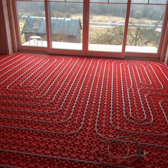 TERMOPOR šildomų grindų sistema