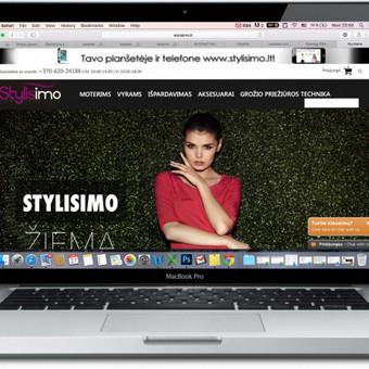 Mūsų valdoma internetinė parduotuvė Stylisimo.lt Viena iš internetinių drabužių parduotuvių rinkos lyderių Lietuvoje!