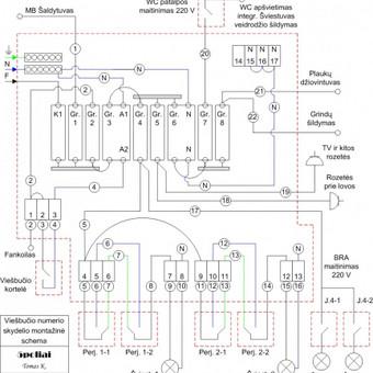 Elektros instal. darbai ir projektavimas / Tomas Kalinauskas / Darbų pavyzdys ID 98203