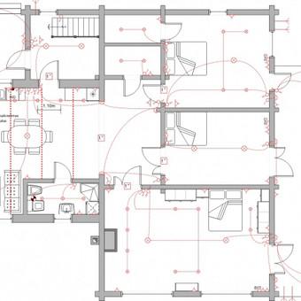 Elektros instal. darbai ir projektavimas / Tomas Kalinauskas / Darbų pavyzdys ID 98204