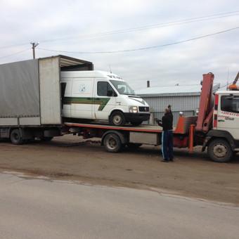 Techninė pagalba kelyje / Hempa Transportas / Darbų pavyzdys ID 98580
