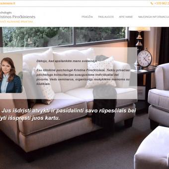 Interneto svetainių kūrimas pagal kliento poreikius