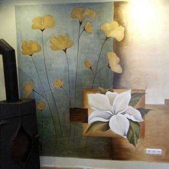 Interjero dekoravimas, bareljefai, freskos, sienų skulptūros / Lina / Darbų pavyzdys ID 100573