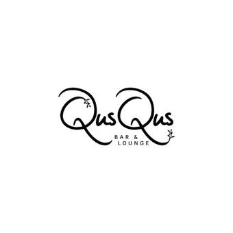 QusQus - bar and louge   |   Logotipų kūrimas - www.glogo.eu - logo creation.
