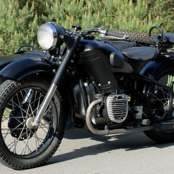 M-72 motociklas po remonto