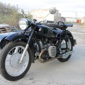 K-750 motociklas po remonto