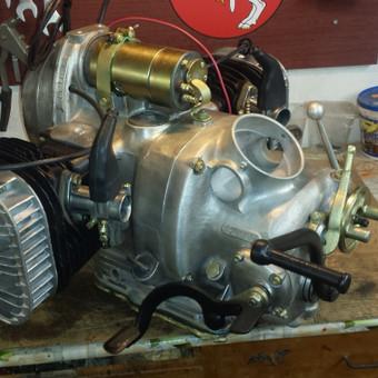 K-750 variklis po kapitalinio remonto
