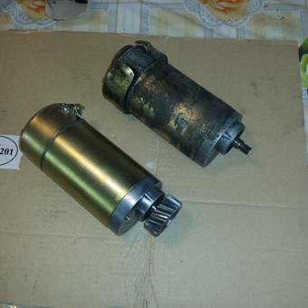 Generatorius prieš ir po remonto