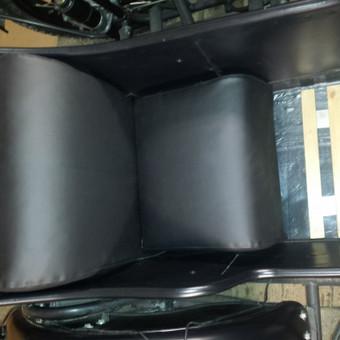 Naujai pasiūtos sėdynės