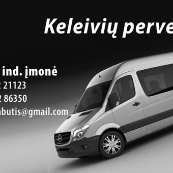 Mikroautobusų nuoma su vairuotoju / Romas Sabutis / Darbų pavyzdys ID 101694