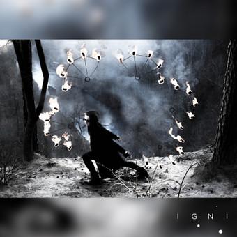 Ugnies studijos www.igni.lt fotopanipuliacijos. Sprendimas pritaikytas Instagram socialiniam tinklui.