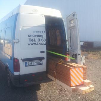 Pervežimas, perkraustymo paslaugos / MB Transkrausta / Darbų pavyzdys ID 102053