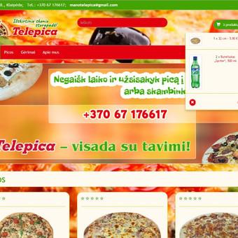 Interneto svetainių kūrimas Kaune / Martynas Leščinskas / Darbų pavyzdys ID 109421