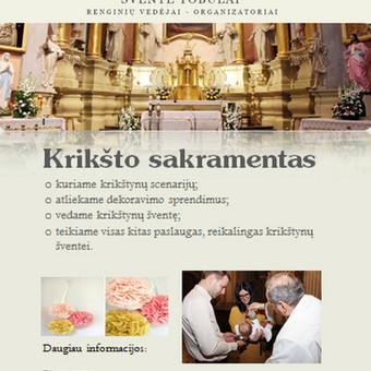 Renginių organizavimas / Jurgita Markevičienė / Darbų pavyzdys ID 109567
