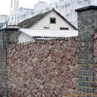 Tvoros is granito netaisiklingu gabalu