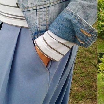 Sijonas su kišenėmis