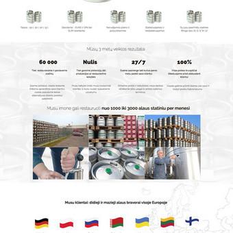 Alaus statinių restauravimas, pirkimas ir pardavimas visoje Europoje