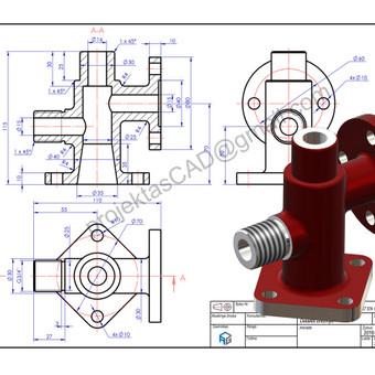Braižytojas Klaipėdoje (AutoCad, SolidWorks, Inventor) / ProjektasCAD / Darbų pavyzdys ID 119615