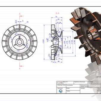 Braižytojas Klaipėdoje (AutoCad, SolidWorks, Inventor) / ProjektasCAD / Darbų pavyzdys ID 119617