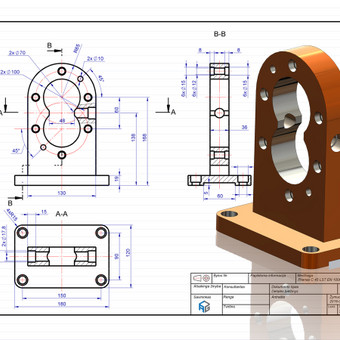 Braižytojas Klaipėdoje (AutoCad, SolidWorks, Inventor) / ProjektasCAD / Darbų pavyzdys ID 119619