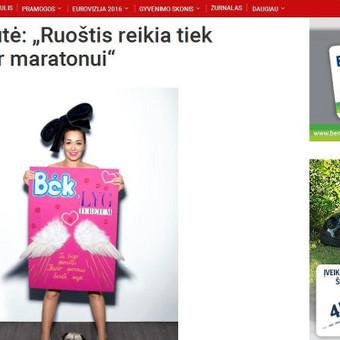Kauno maratonas portale zmones.lt