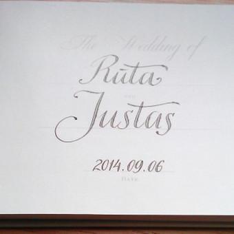 Kaligrafijos meistras / Rolandas Bilinskas / Darbų pavyzdys ID 121549