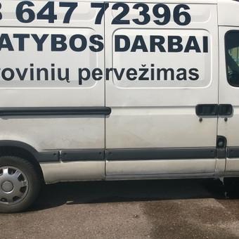 Kroviniu  pervežimas klaipedoje palanga / Vidas Vidauskas / Darbų pavyzdys ID 122603