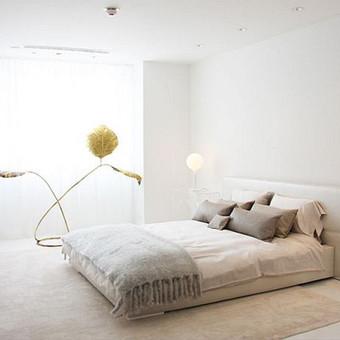 minimalistinis miegamasis