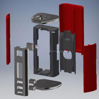 Vacuum casting ir didelio formato tikslus 3D spausdinimas / eleganttech / Darbų pavyzdys ID 124871
