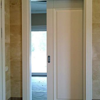 Vidaus durys iš medžio masyvo / Aidas Mazūra / Darbų pavyzdys ID 125585