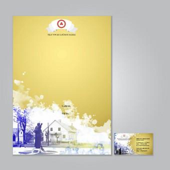 Plakato ir vizitinės dizainas