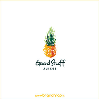 """Good Stuff"" logotipas."