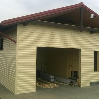 Garažų įrengimas, statymas