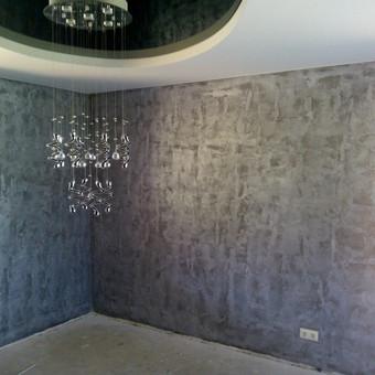Sienu dekoravimas,vidaus apdailos darbai. / Rolandas / Darbų pavyzdys ID 130175