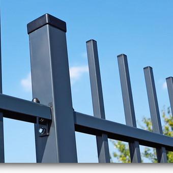Tvoros, kiemo vartai, montavimas, kalvystės elementai. / UAB Metalo spektras / Darbų pavyzdys ID 133415