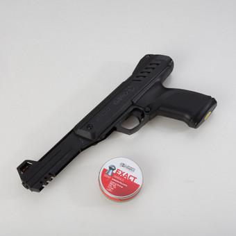 """Dar viena šaudymo priemonė – pistoletai. Iš jų galima šaudyti tiek švininėmis kulkelėmis, tiek ir spalvotomis """"mini darts"""" strėlytėmis. Priklausomai nuo to pasirenkamas taikinys.  A ..."""