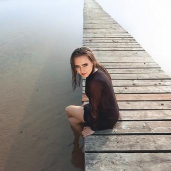Asmeninė fotosesija vandeny