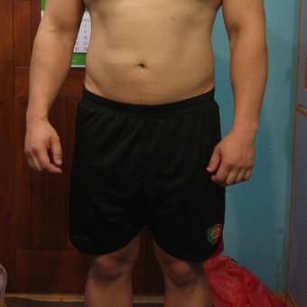 """Treniruociu ciklo """"PASIRUOSKIM VESTUVEM"""" PRADZIA,,,,2016.05.23 Ciklas truks 3,5men.Sportininko svoris 106,5kg."""