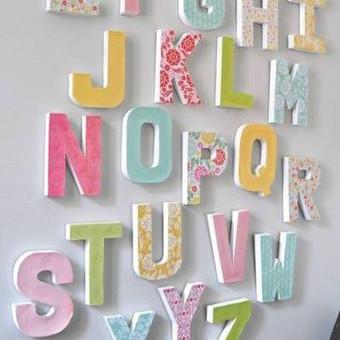 Tūrinės raidės ir skaičiai http://www.spalvunamai.lt/kitos-technikos/turines-raides-ir-skaiciai/