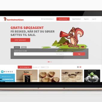 Pilnai automatizuotas skelbimų portalas Danijos rinkai. Interneto svetainės adresas: www.bornholmerbixen.dk