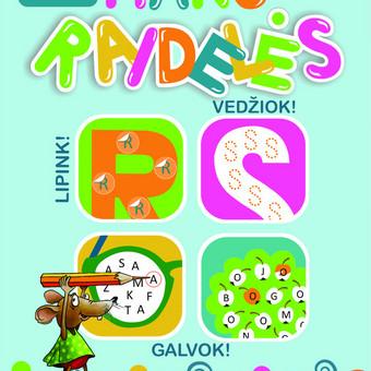 """""""MANO RAIDELĖS"""" –atlik užduotėles ir išmok pažinti raides! Net 140 raidžių lipdukų.Klijuodamas lipdukus ant gražiai nupieštųraidžių, vaikas išmoks atpažinti raidę iš kitų. Ved ..."""