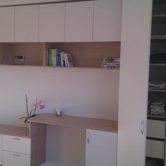 #Svetainės, darbo kambario ir miegamojo baldas