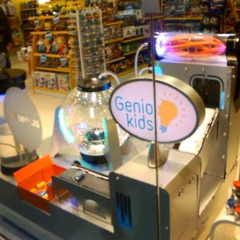 Žaislų fabriko maketas kompanijai Genio Kids
