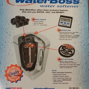 Automatinis minkštinimo filtras WaterBoss 700